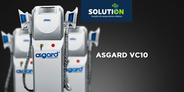 Asgard VC10 - Criolipólise que funciona - Solution Locações